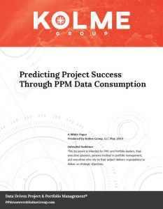 Predicting Project Success Through PPM Data Consumption