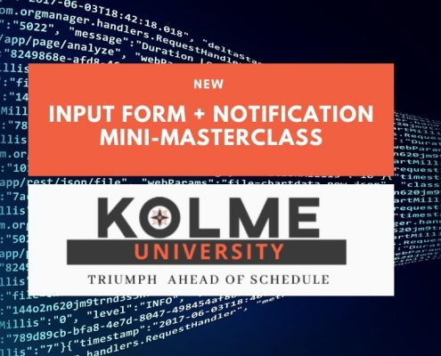 Clarizen Input Form + Notifications Using HTML